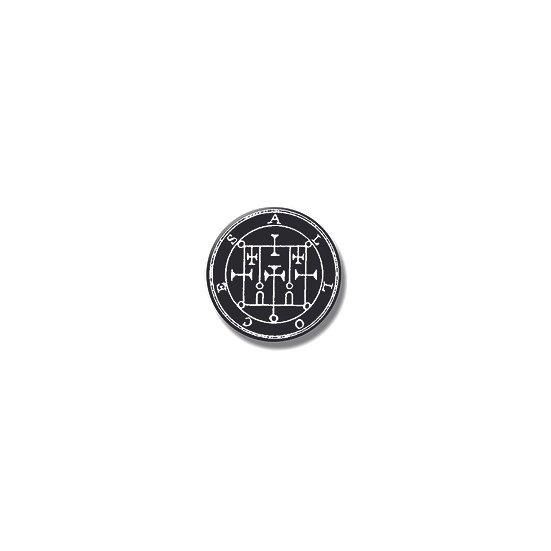 Button pin Alloces Ars Goetia demon