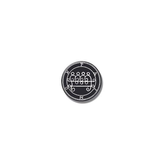 Button pin Paimon Ars Goetia demon