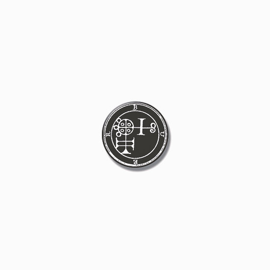 Button pin Buer Ars Goetia demon