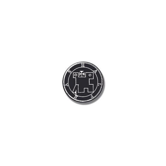 Button pin Halphas Ars Goetia demon
