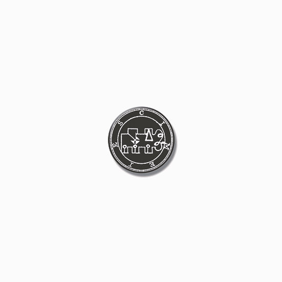 Button pin Cimeies Ars Goetia demon