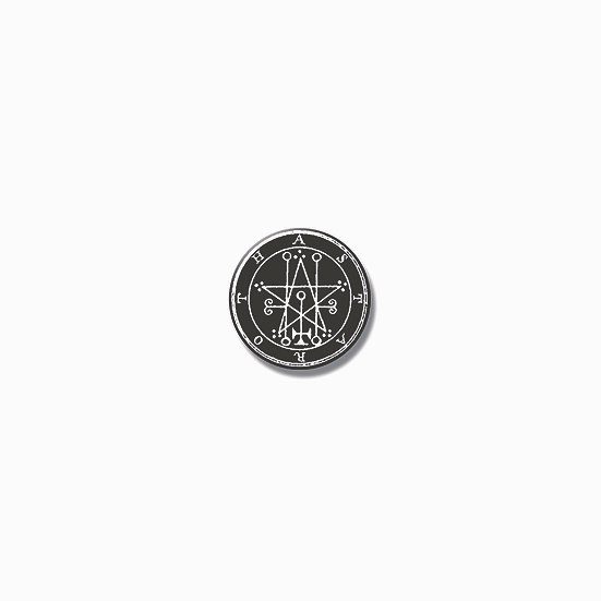 Button pin Astaroth Ars Goetia demon