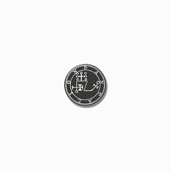 Button pin Dantalion Ars Goetia demon