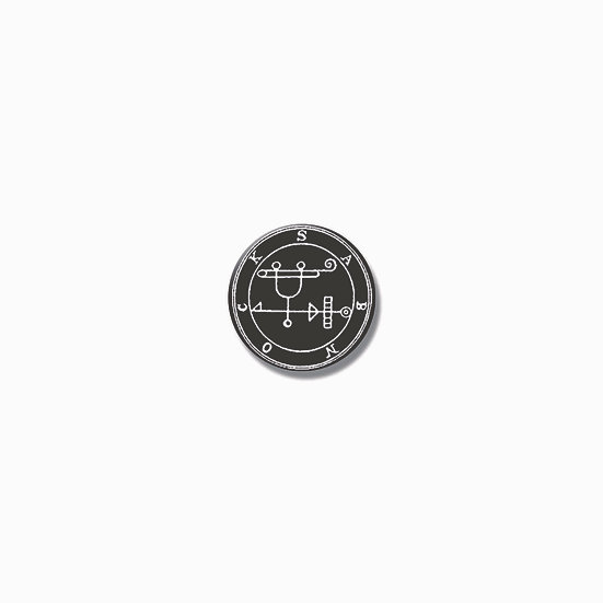 Button pin Sabnock Ars Goetia demon