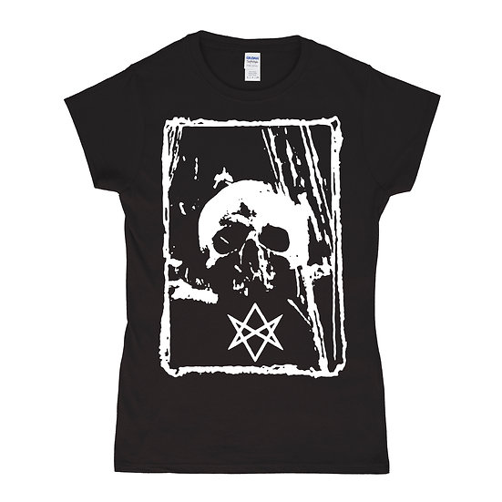 Hexagram women black T-shirt
