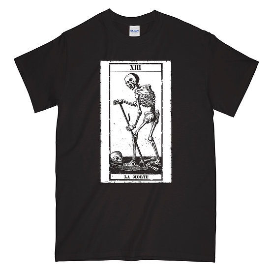 La Morte black T-shirt