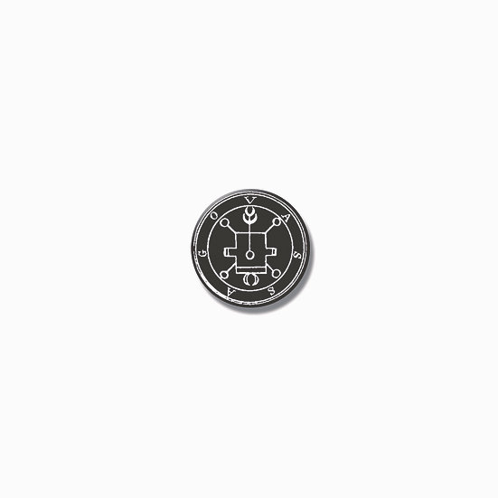 Button pin Vassago Ars Goetia demon