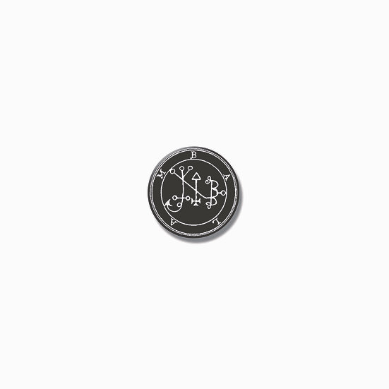Button pin Balam Ars Goetia demon