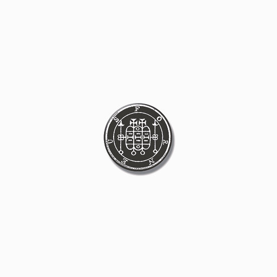 Button pin Forneus Ars Goetia demon