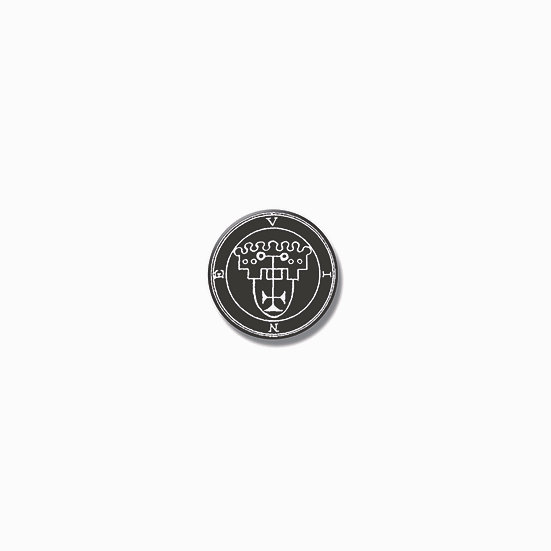 Button pin Vine Ars Goetia demon