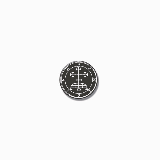 Button pin Samigina Ars Goetia demon