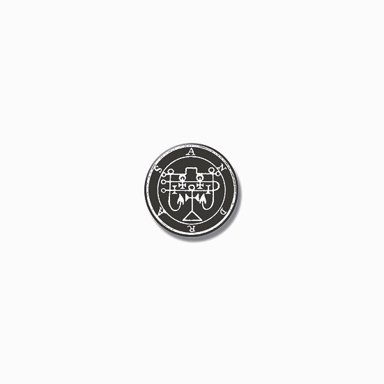 Button pin Andras Ars Goetia demon