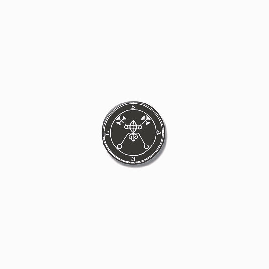 Button pin Bael Ars Goetia demon