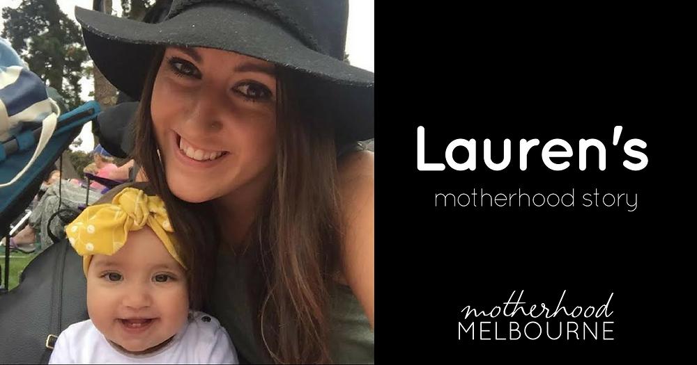 Lauren's motherhood story