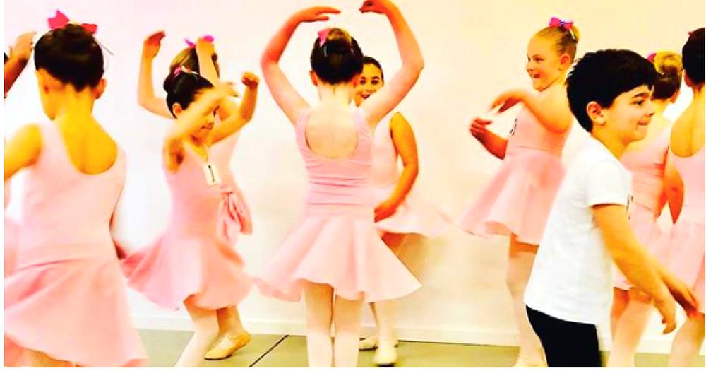 Tiny Ballet Dancers