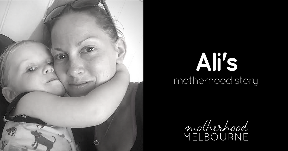 Ali's motherhood story