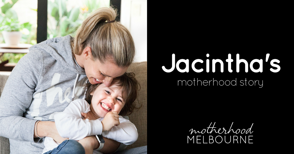 Jacintha's motherhood story