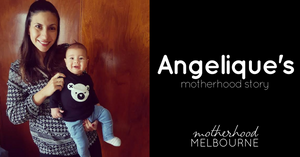 Angelique's motherhood story