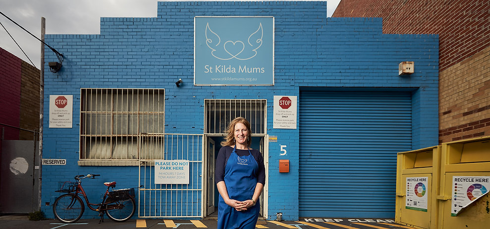 Jessica Macpherson - St Kilda Mums