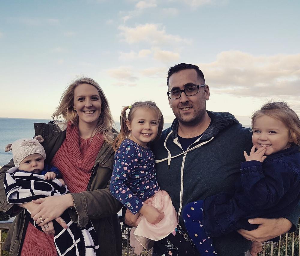 Jakki and her family