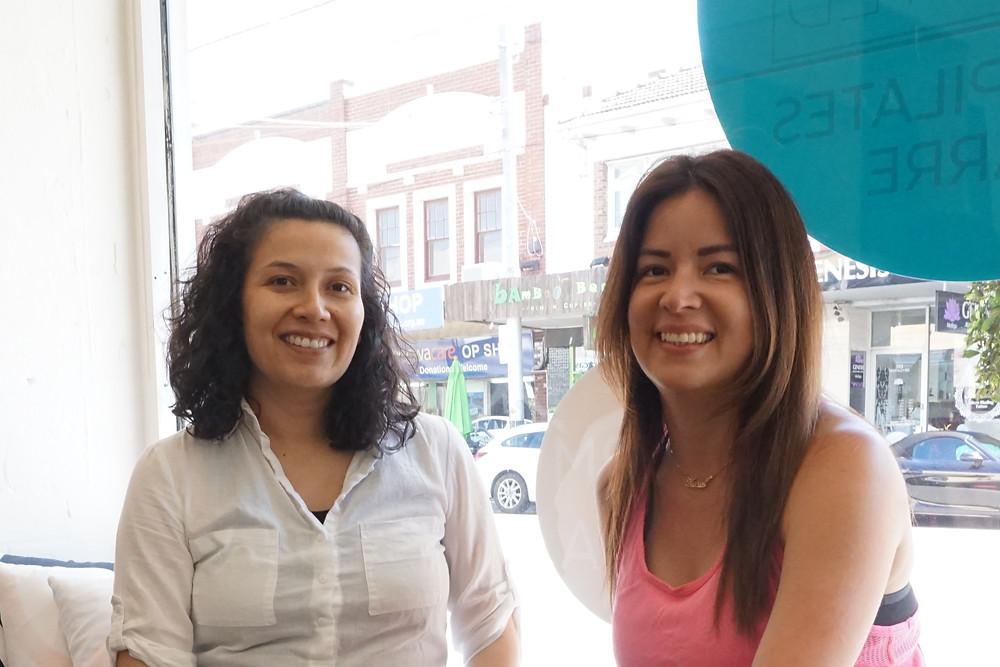 Andrea and Karoll