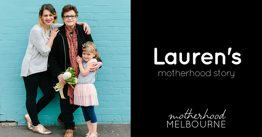 Lauren's motherhood story
