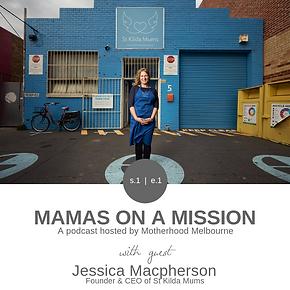 Podcast - Episode 1 - Jessica Macpherson