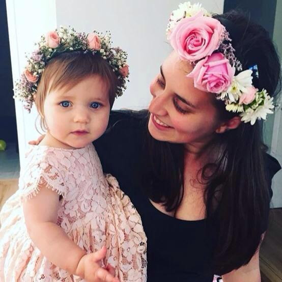 Leah and her daughter