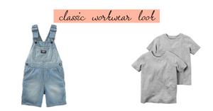 Classic workwear look