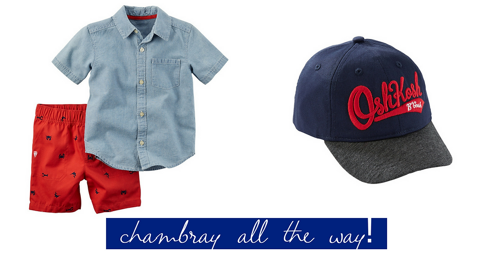 Chambray all the way!