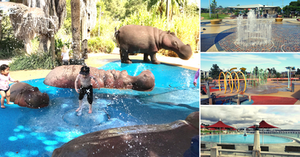 15 water play parks and places in Melbourne and beyond