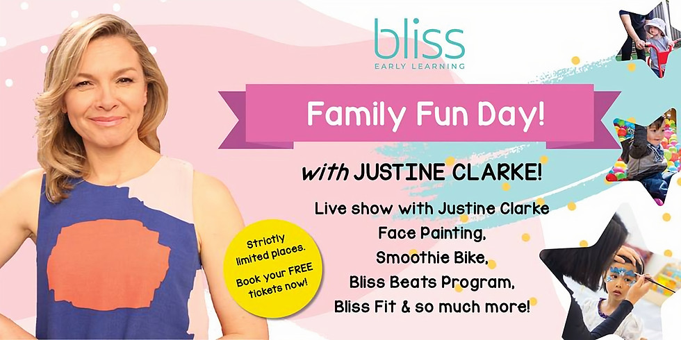 Family Fun Day with Justine Clark