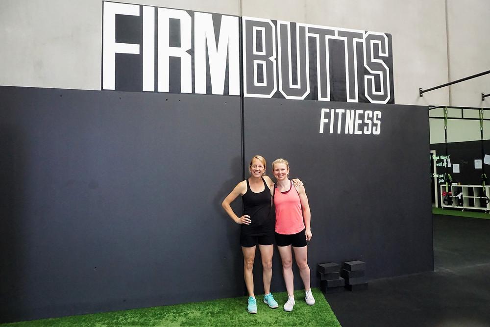 Sarah and Sarah at Firm Butts Fitness