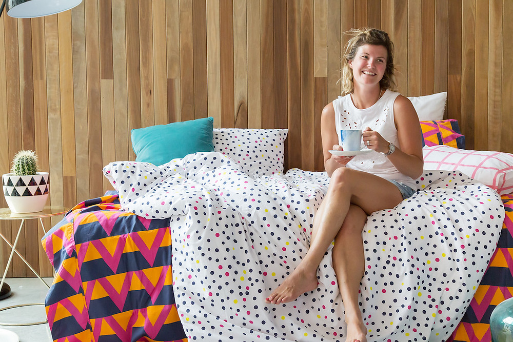 Adding colour to your bedroom with Siesta Home