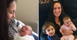 Jessica suffered from anxiety during her first pregnancy.