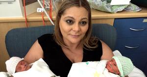 Josie's motherhood story - Debilitating twin pregnancy