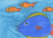 big fish little fish ACEO.jpg