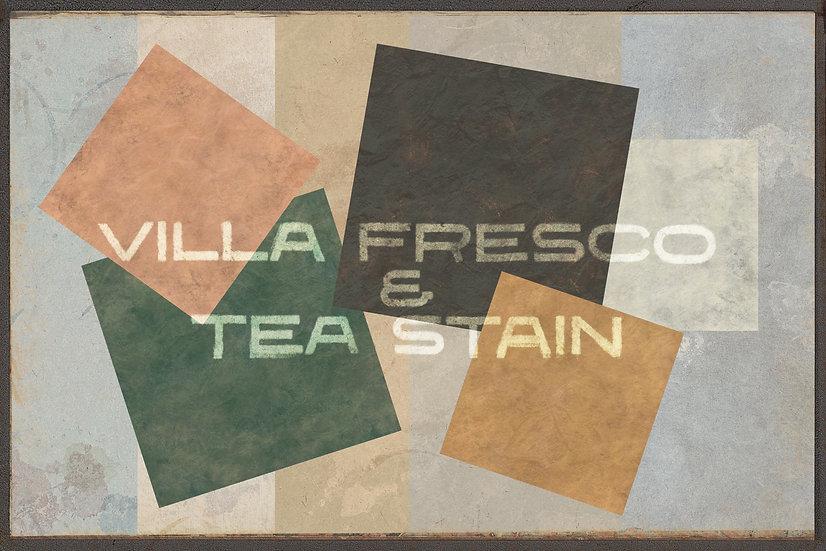 VILLA FRESCO & TEA STAIN