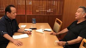 構造スリットの第一人者・都甲栄充氏が来福~構造設計一級建築士・仲盛昭二氏とベルヴィ香椎の施工不具合問題を対談