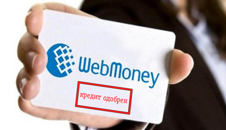 Интернет займ на webmoney