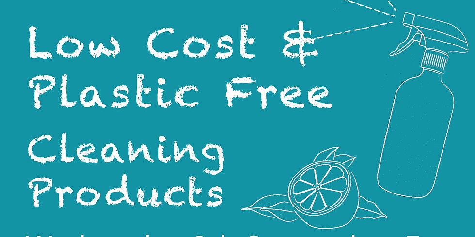 Make Your Own Low Cost Cleaning Products