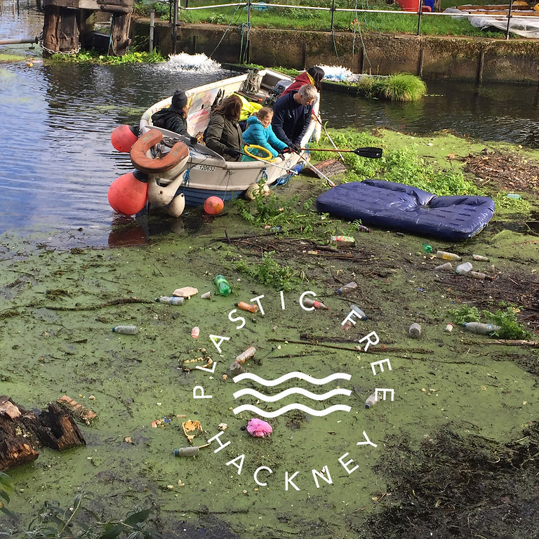 Plastic-Free Hackney & Save Lea Marshes Pollution Pick