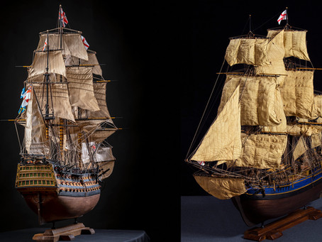 Technology of making sails for my models...