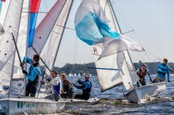 Regatta on the Kiev Sea 2017