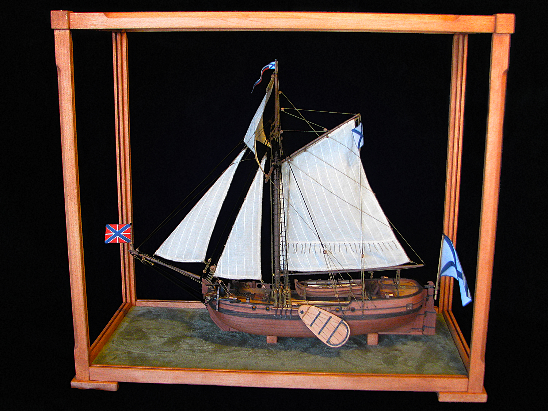 Deck-Boat St.Gabriel-1728(Scale1:72)