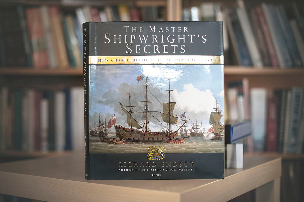 OVERVIEW - The Master Shipwright's Secrets (which was published in 2020) - How Charles II built the Restoration Navy by Richard Endsor.