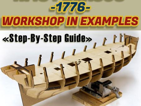 HMS PEGASUS (1776) in Scale 1/64 (Workshop on examples/Практикум на прикладах)