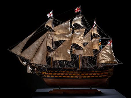 Фотосесія для моделі корабля...