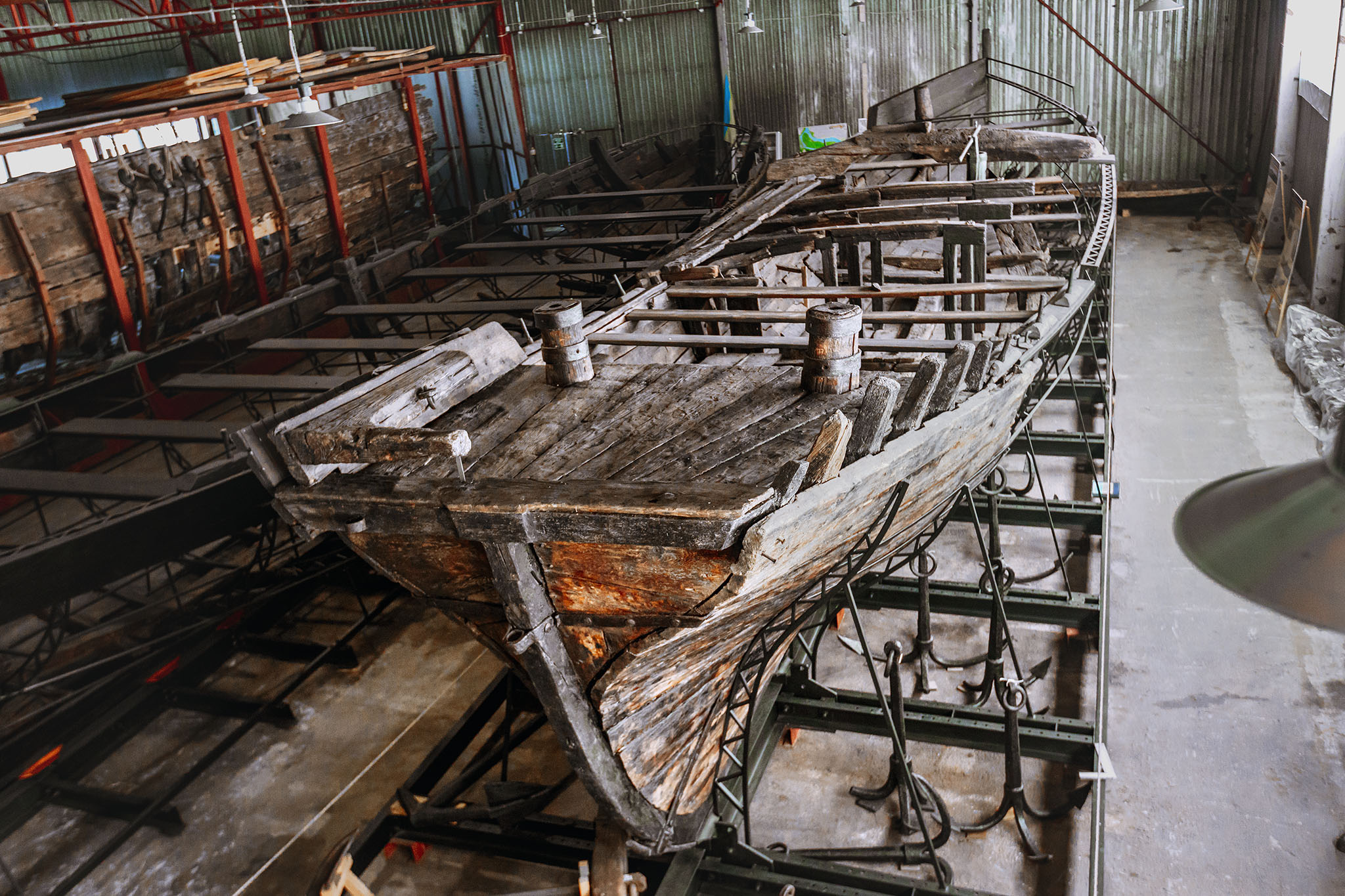 Cossack Boat 1739 (Khortytsia Island
