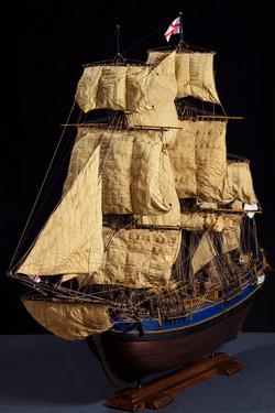 H.M.A.V. Bounty - 1787 (Scale 1:45)